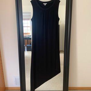 London Times Assymetrical Black Dress